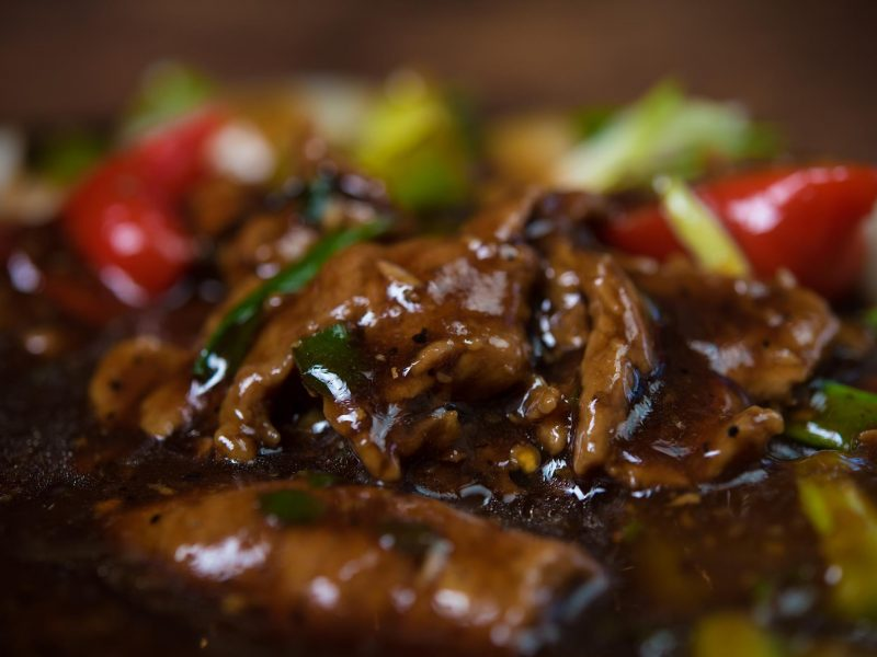 Sizzling Beef